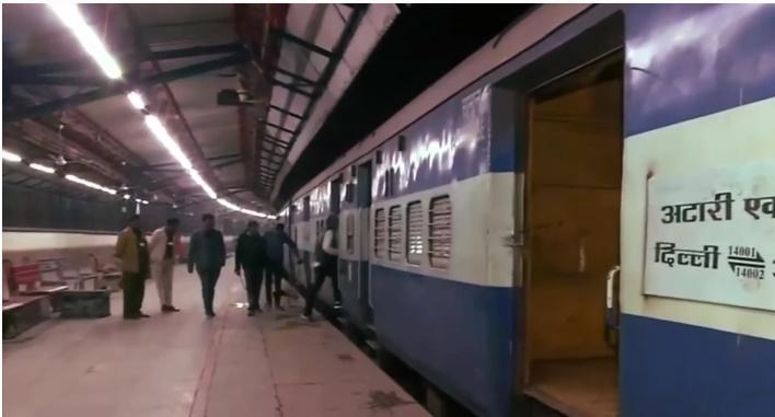 ข่าวสดวันนี้ ปากีสถาน รถไฟสายด่วน อินเดีย
