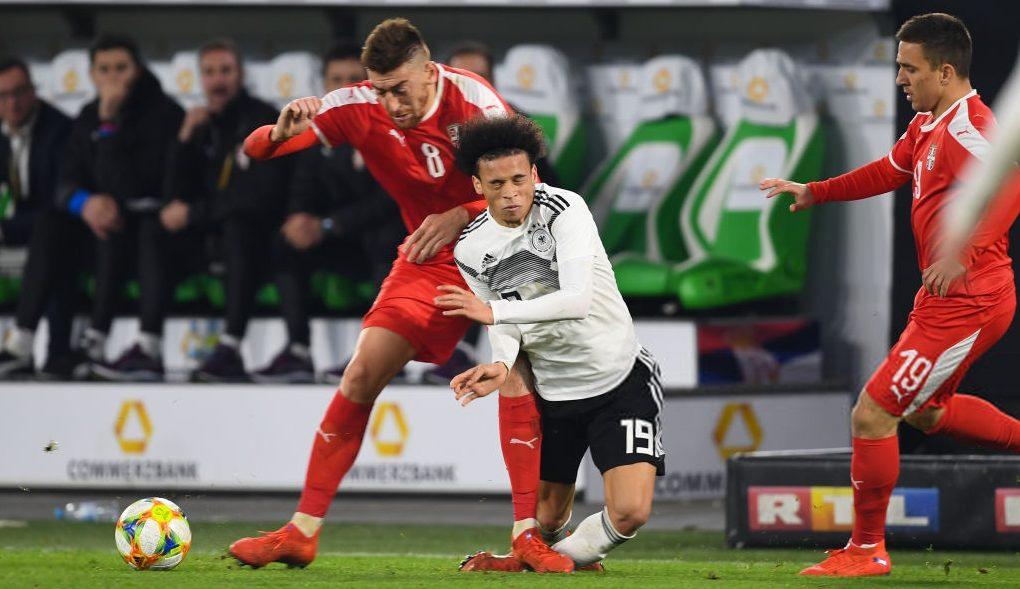 กระชับมิตรทีมชาติ ผลบอล อินทรีเหล็ก เซอร์เบีย เซิร์บ เยอรมัน