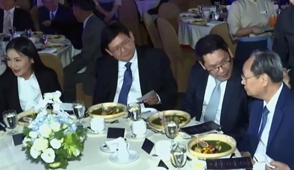 กกต พปชร. พรรคพลังประชารัฐ โต๊ะจีน