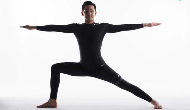 """""""Yoga & Me รอน เอเอฟ โยคะ"""