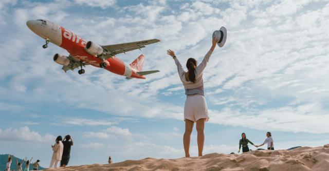 ข่าวจังหวัดภูเก็ต ข่าวสดวันนี้ ภาพเครื่องบิน หาดไม้ขาว
