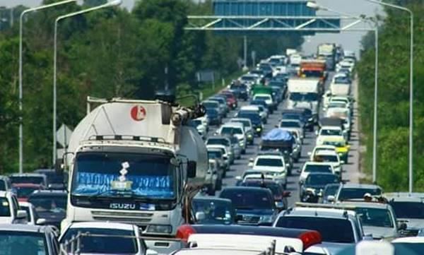 5 เส้นทาง ข่าวสดวันนี้ รถสิบล้อ ห้ามรถสิบล้อวิ่ง เทศกาลสงกรานต์