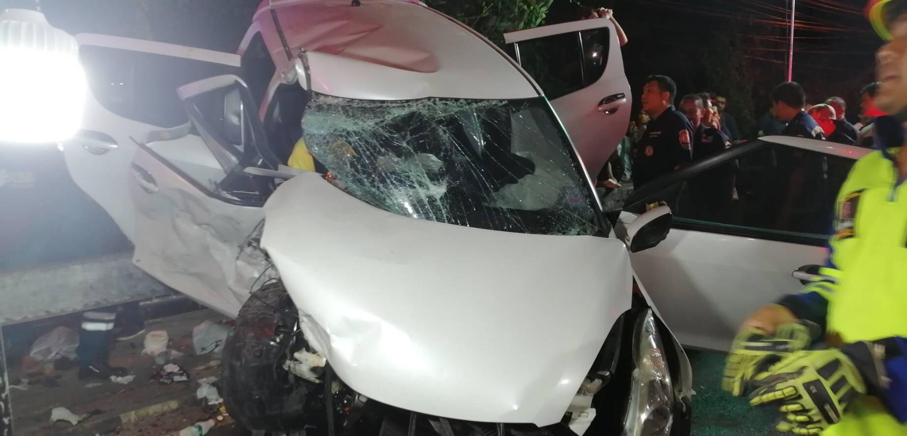 ข่าวสดวันนี้ ข่าวอุบัติเหตุ เมาแล้วขับ