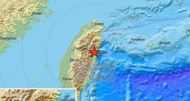 ข่าวสดวันนี้ ข่าวแผ่นดินไหว แผ่นดินไหว แผ่นดินไหวไต้หวัน