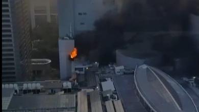 เซ็นทรัลเวิลด์ โรงแรมเซ็นทารา ไฟไหม้ ไฟไหม้ โรงแรมเซ็นทารา