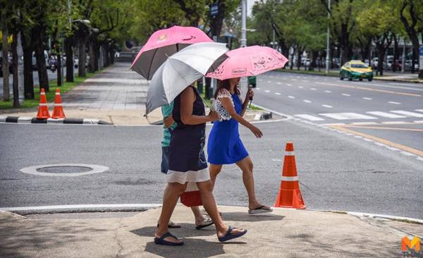 กรมอุตุฯ ข่าวสดวันนี้ ฝนฟ้าคะนอง พยากรณ์อากาศ สภาพอากาศ หน้าร้อน