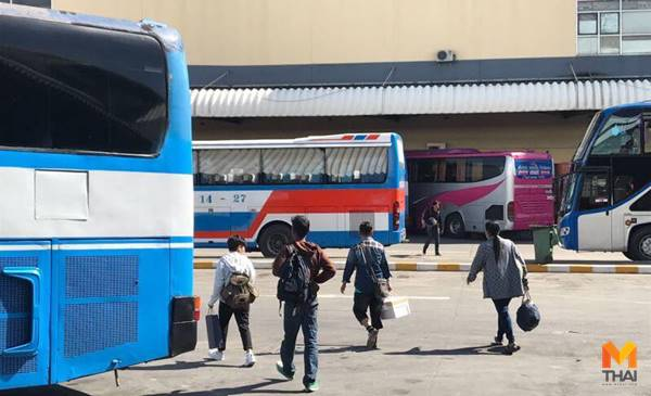 รถโดยสาร ศูนย์รับเรื่องร้องเรียน สถานีขนส่ง เทศกาลสงกรานต์ 2562
