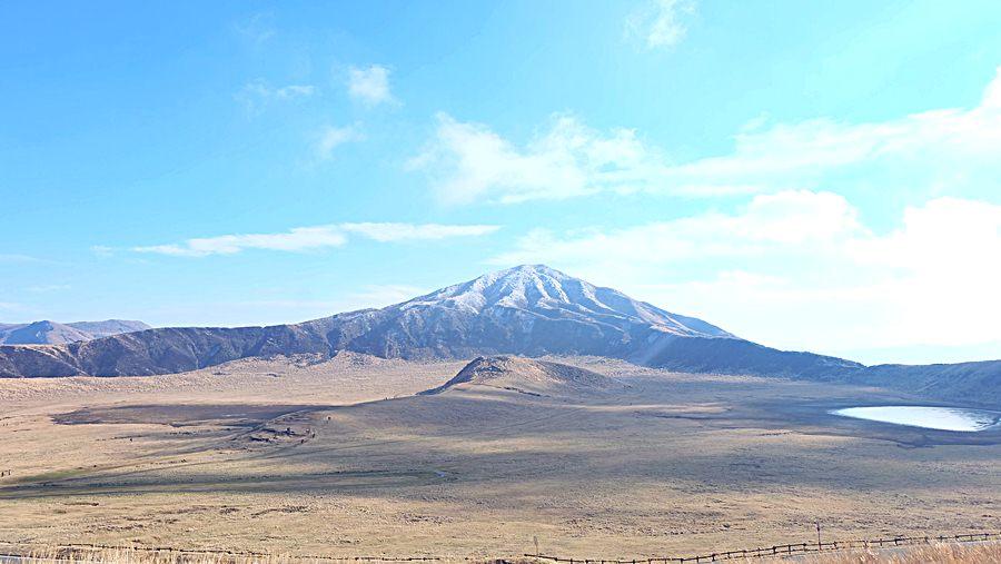 ภูเขาไฟระเบิด ภูเขาไฟอาโสะ