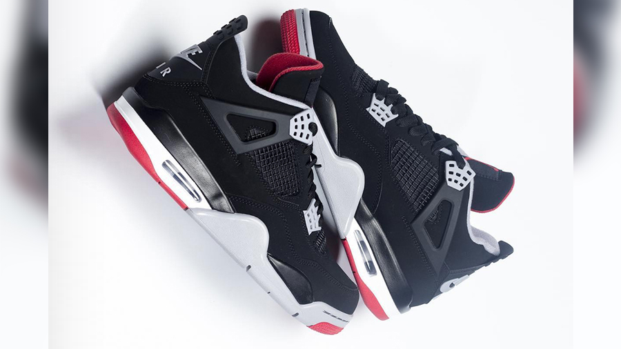 Air Jordan Air Jordan 4 Bred 4s Jordan Brand nike Sneaker Tinker Hatfield รองเท้า สนีกเกอร์ ไนกี้