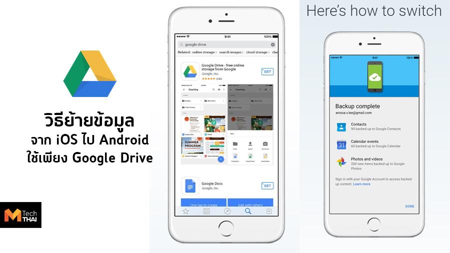 Google Drive iOS Tips & Technic มือถือ Android เคล็ดลับ เทคนิค แอนดรอยด์