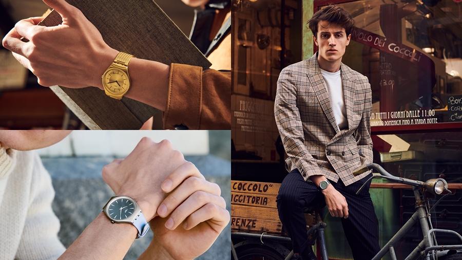 fashion skin SKIN Irony swatch watch นาฬิกา มินิมอล สวอท์ช แฟชั่น