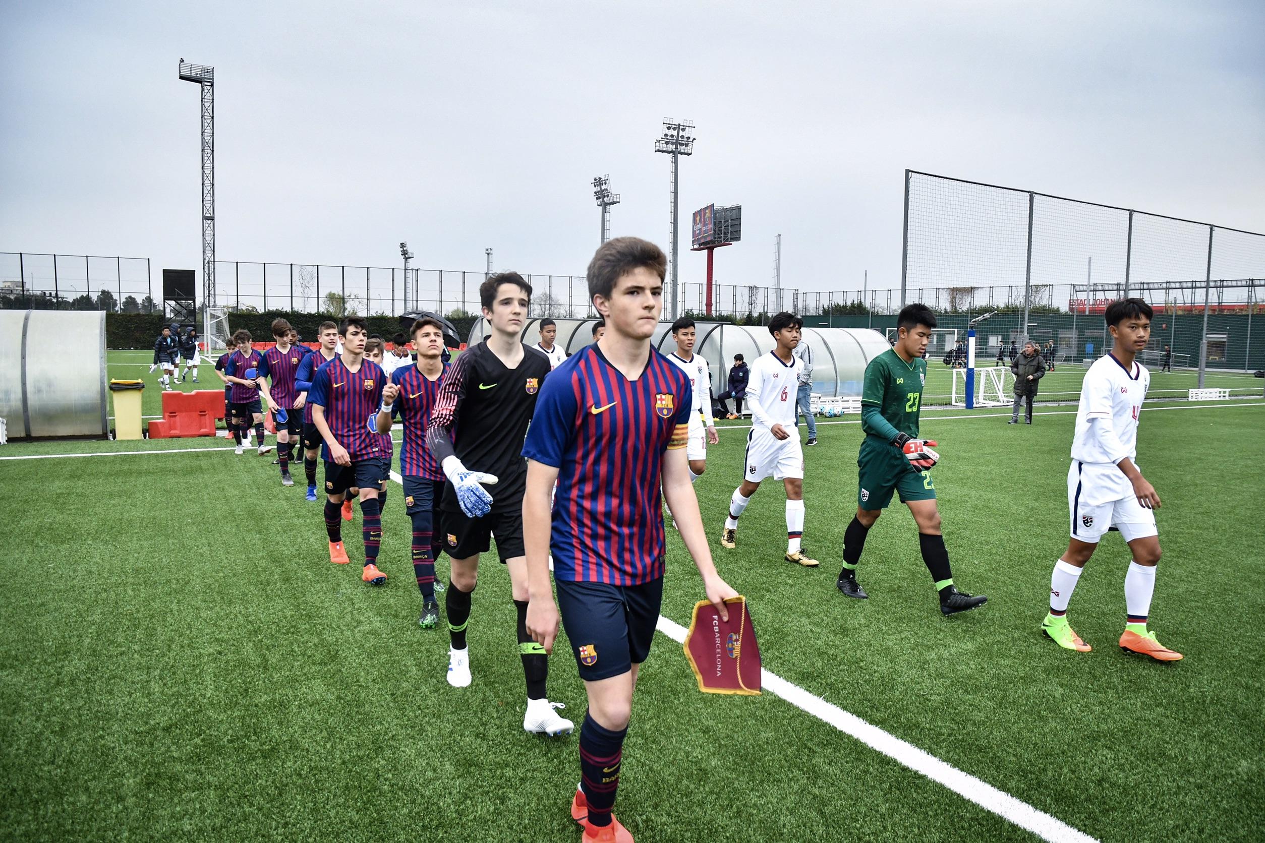 ซัลบาดอร์ บาเลโร่ การ์เซีย ทีมชาติไทย U15 ทีมชาติไทย รุ่นอายุไม่เกิน 16 ปี