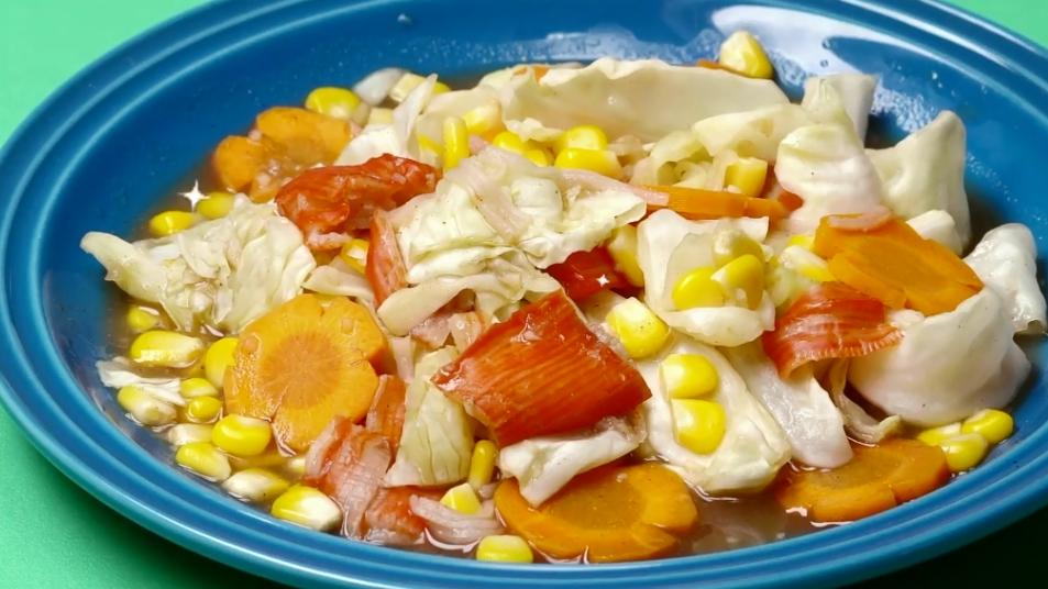 กินหลักหน่วย ผัดผัก ผัดผักไมโครเวฟ เมนูไมโครเวฟ