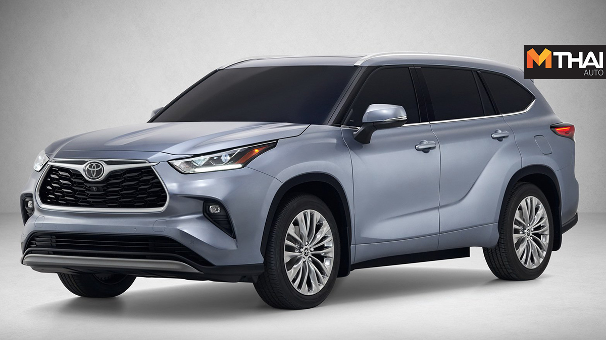 2020 Highlander RAV4 suv TNGA-K Toyota All-New 2020 Highlander