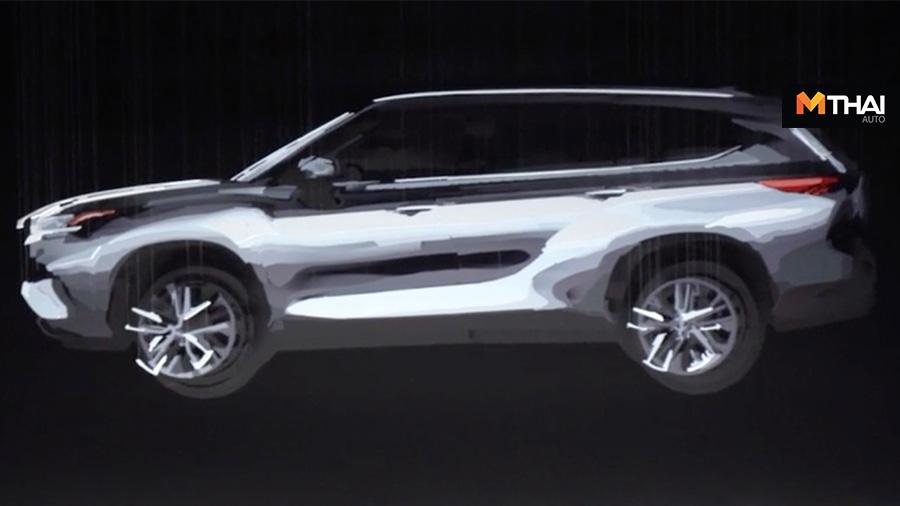 2020 Highlander Toyota Toyota Highlander ภาพสามมิติ
