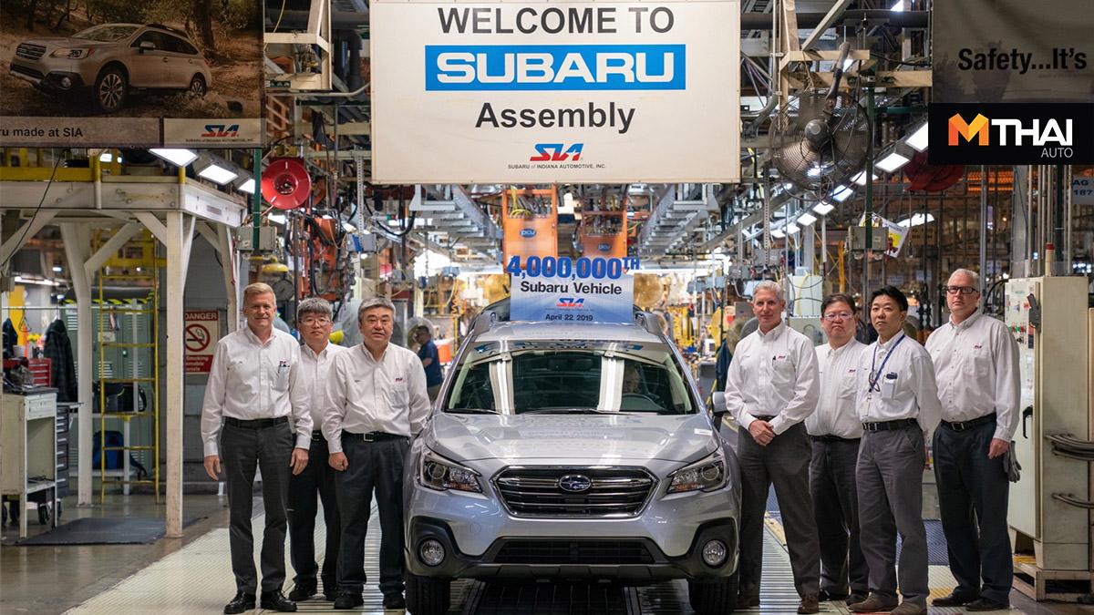 subaru Subaru Outback ซูบารุ โรงงานผลิตรถยนต์