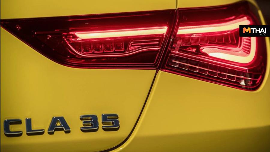 A-Class CLA 35 Mercedes-AMG รถยนต์ซีดาน