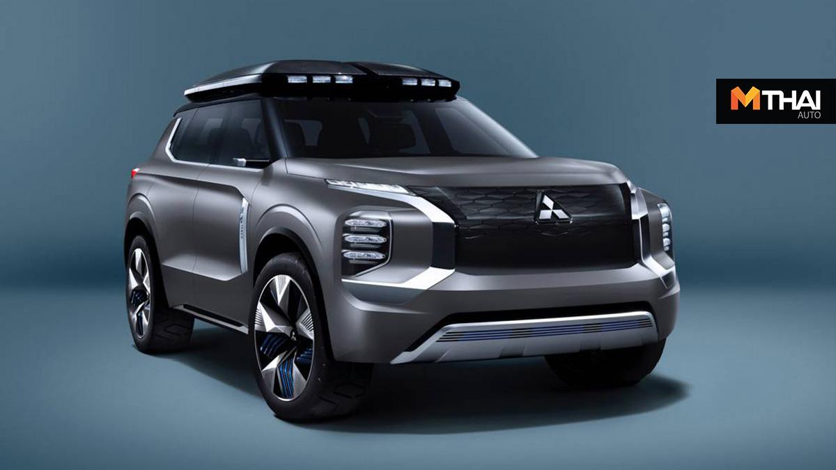 e-Yi Concept Engelberg Tourer Mitsubishi PHEV suv ปลั๊กอินไฮบริด
