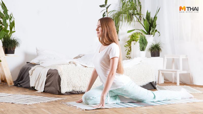 ท่าออกกำลังกาย ท่าออกกำลังกายง่ายๆ ออกกำลังกาย ออกกำลังกาย คนไม่มีเวลา ออกกำลังกาย สาวออฟฟิศ ออกกำลังกายที่บ้าน