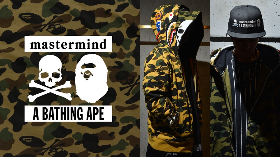 A BATHING APE Bape fashion Mastermind Japan MMJ Shark Hoodie streetwear สตรีทแวร์ แฟชั่น