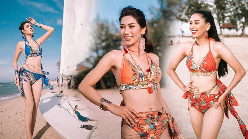 MISS GRAND THAILAND Miss Grand Thailand 2019 ชุดว่ายน้ำ มิสแกรนด์สงขลา ชุดว่ายน้ำนางงาม ประกวดนางงาม ผ้าปาเต๊ะ มิสแกรนด์สงขลา มิสแกรนด์สงขลา 2019 มิสแกรนด์ไทยแลนด์ มิสแกรนด์ไทยแลนด์ 2019