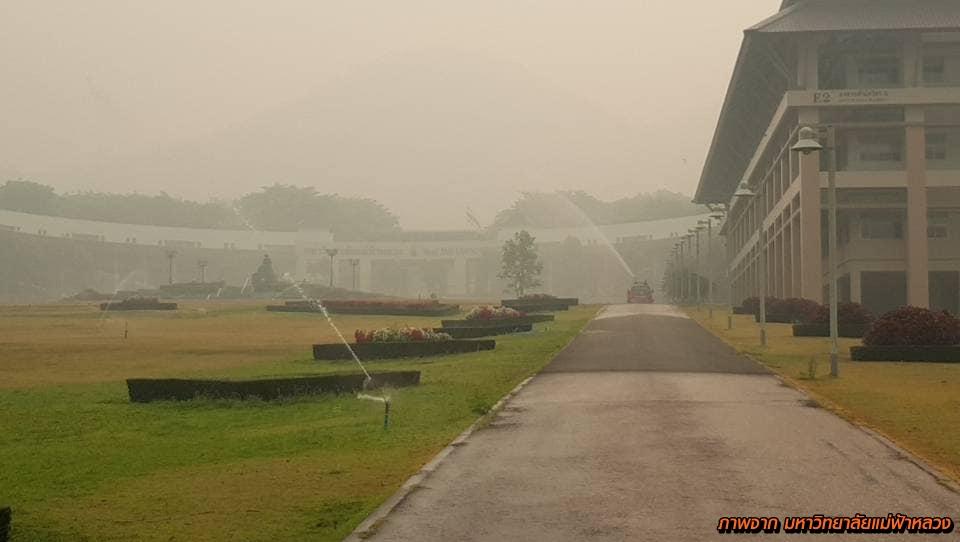 PM2.5 คุณภาพอากาศ ดับไฟป่า ปัญหาฝุ่นละออง ปัญหาหมอกควัน หมอกควันภาคเหนือ