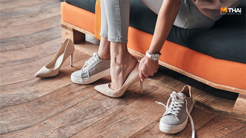 รองเท้า รองเท้าทำลายสุขภาพ รองเท้าส้นสูง วิธีเลือกรองเท้า