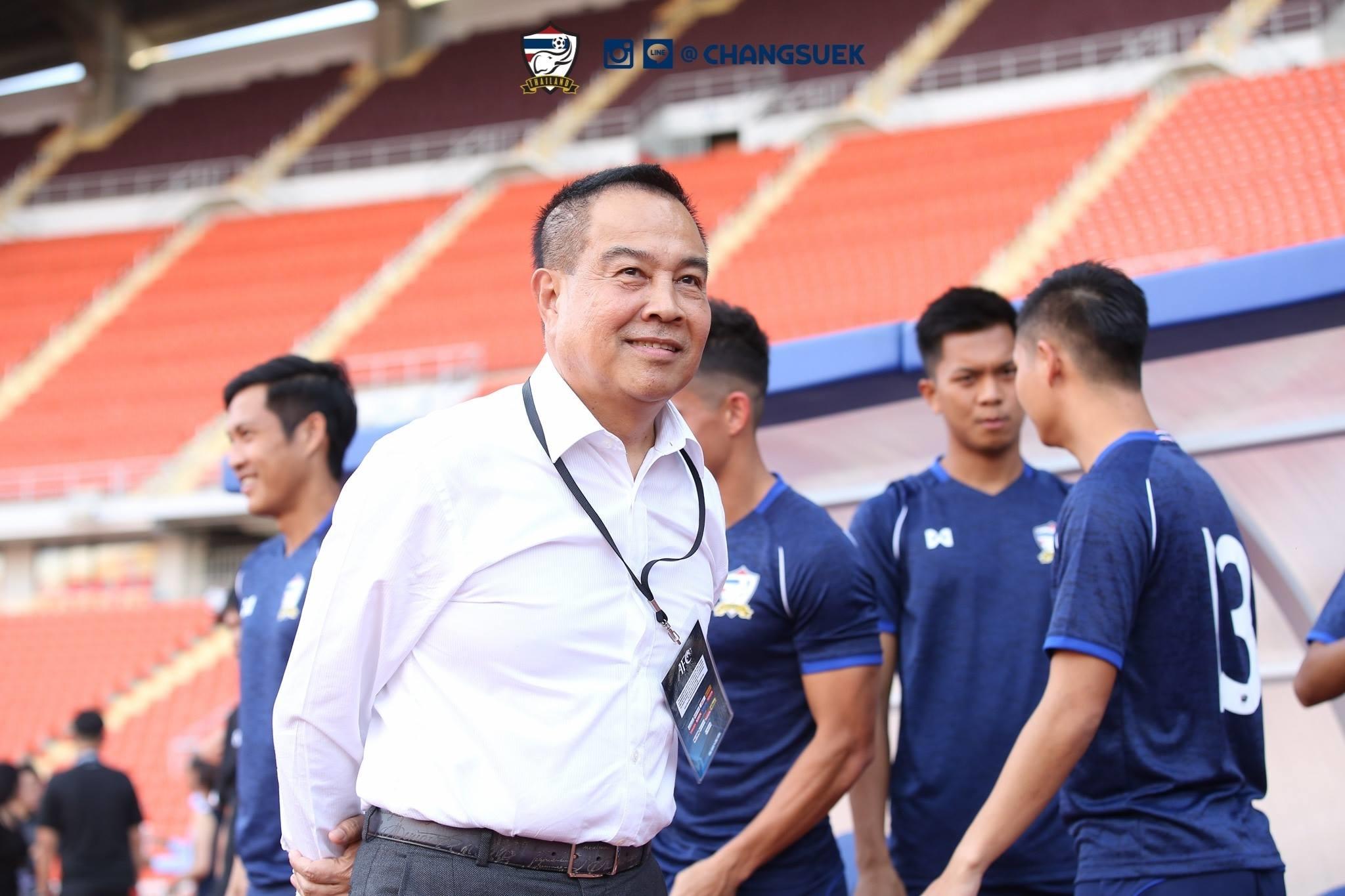 สมยศ พุ่มพันธุ์ม่วง สมาคมกีฬาฟุตบอลแห่งประเทศไทย