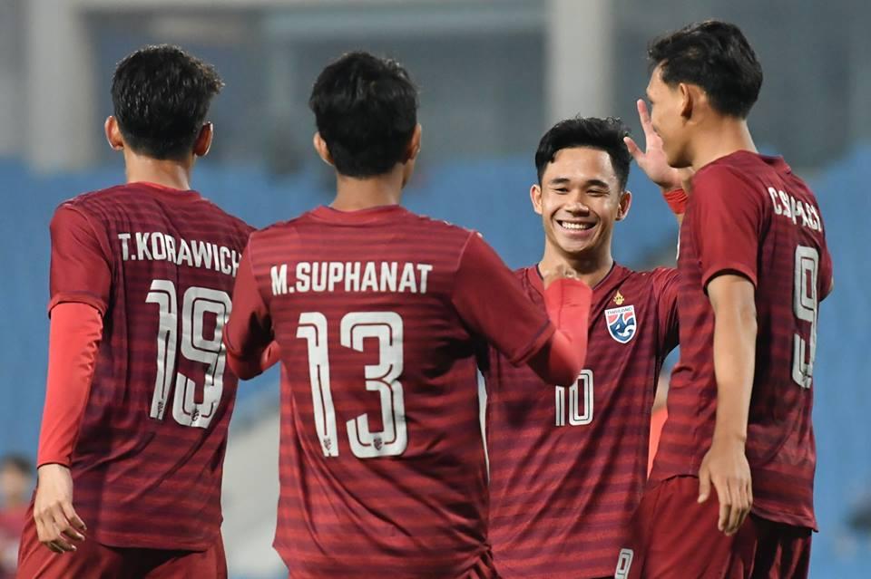 Merlion Cup 2019 ทีมชาติไทย U23 อเล็กซานเดร กามา