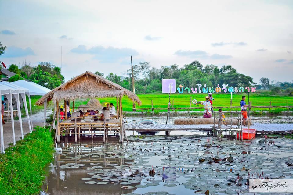 ตลาดน้ำ ตลาดน้ำสายลมชมบัว ที่เที่ยวระยอง เที่ยวตลาดน้ำ เที่ยวระยอง