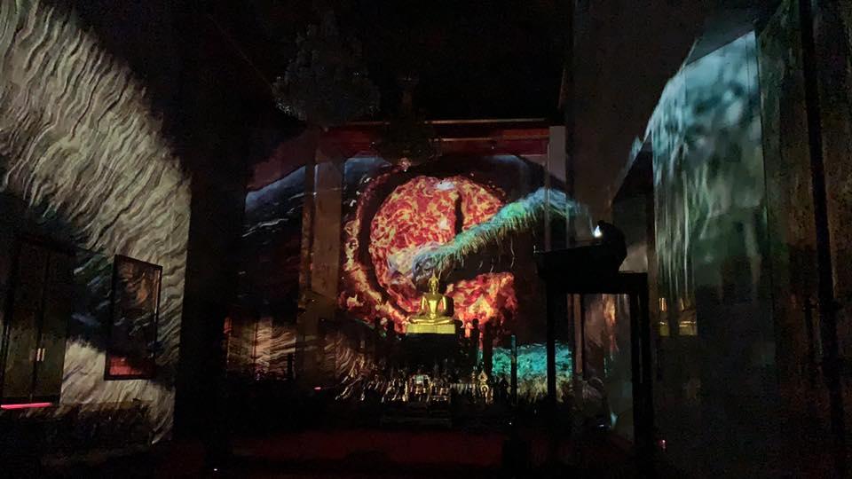 ที่เที่ยวกรุงเท นิทรรศการศิลปะ นิทรรศการศิลปะดิจิทัล วัดสุทธิวราราม เที่ยวกรุงเทพฯ