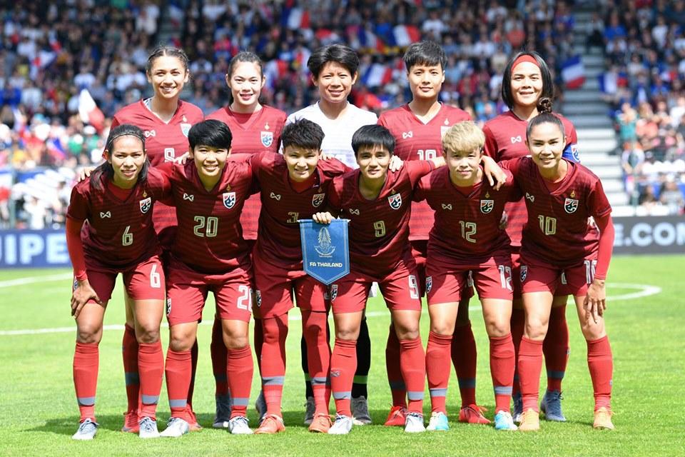 ฟุตบอลหญิงชิงแชมป์โลก 2019 ฟุตบอลหญิงทีมชาติไทย