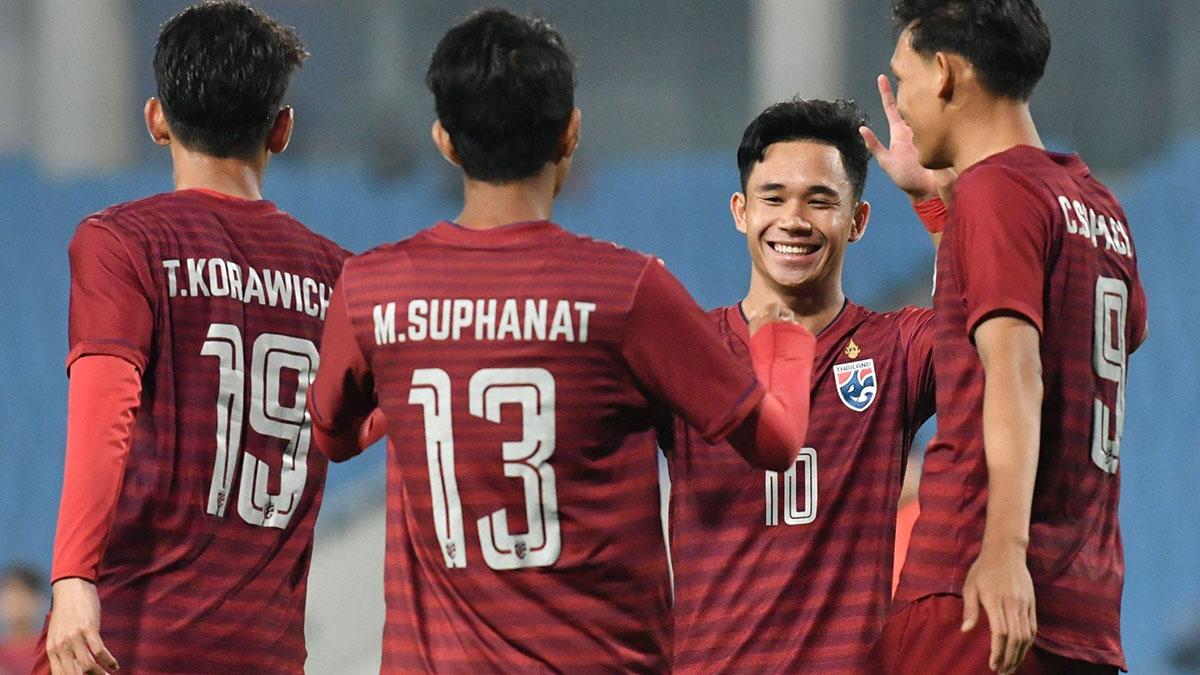 คิงส์ คัพ ครั้งที่ 47 ชนาธิป สรงกระสินธ์ ทีมชาติไทย ศิริศักดิ์ ยอดญาติไทย สุภโชค สารชาติ