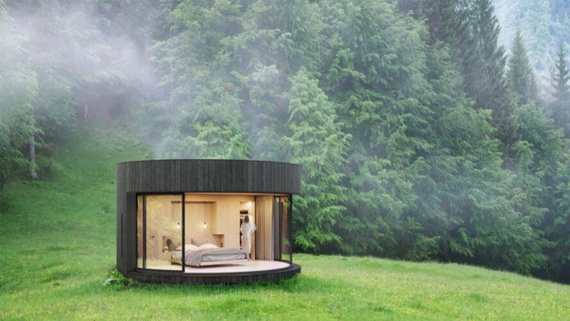 บ้านสำเร็จรูป มินิมอล สไตล์คอนเทมโพรารี่ แบบบ้าน แปลนบ้าน