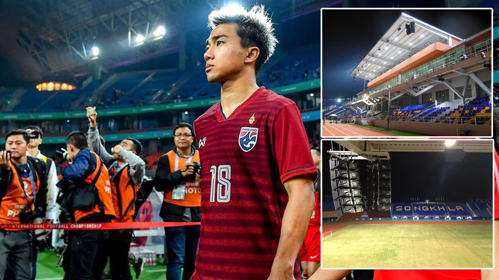 กรวีร์ ปริศนานันทกุล ทีมชาติไทย ฟุตบอลโลก 2022 รอบคัดเลือก โซนเอเชีย สนามกีฬาติณสูลานนท์