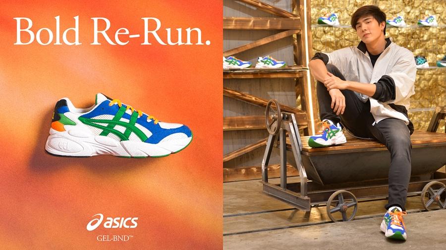 ASICS Chunky fashion GEL KAYANO 5 OG GEL-BND GEL-BONDI GEL-DIABLO Sneaker รองเท้า สนีกเกอร์ แฟชั่น