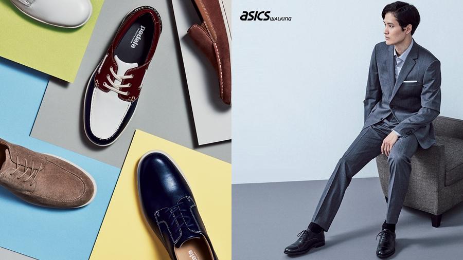 ASICS fashion Love one's FEET PEDALA RUNWALK Sneaker รองเท้า สนีกเกอร์ เอสิคซ์ แฟชั่น
