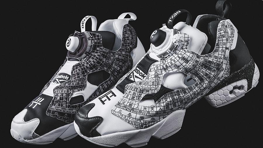 DEAL fashion Feng Shui Compass Instapump Fury reebok Sneaker streetwear สตรีทแวร์ สนีกเกอร์ แฟชั่น