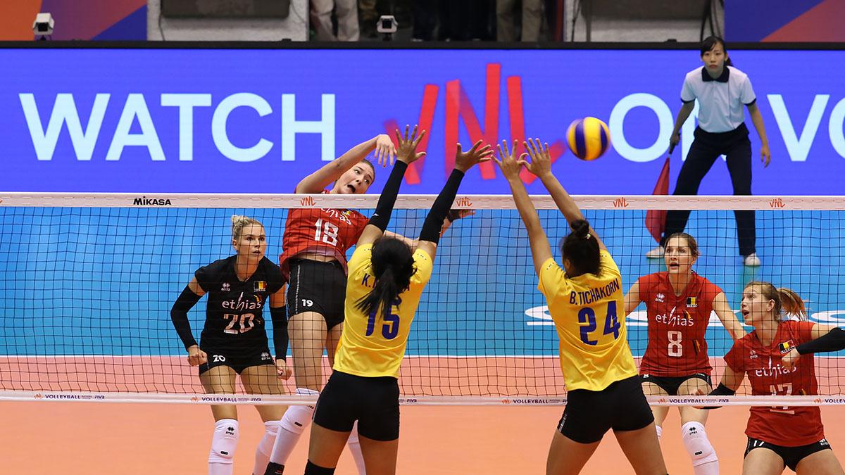 ทีมชาติไทย วอลเลย์บอลหญิง เนชั่นส์ ลีก 2019