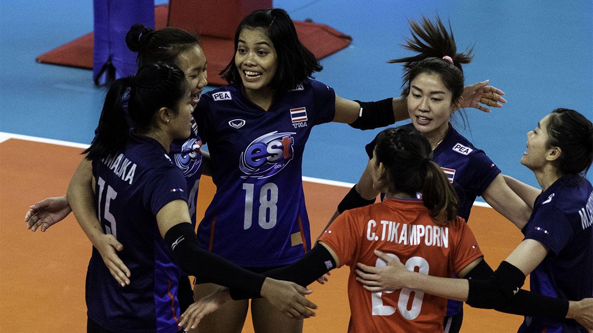 ทีมชาติเยอรมัน ทีมชาติไทย วอลเลย์บอลหญิง เนชั่นส์ ลีก 2019