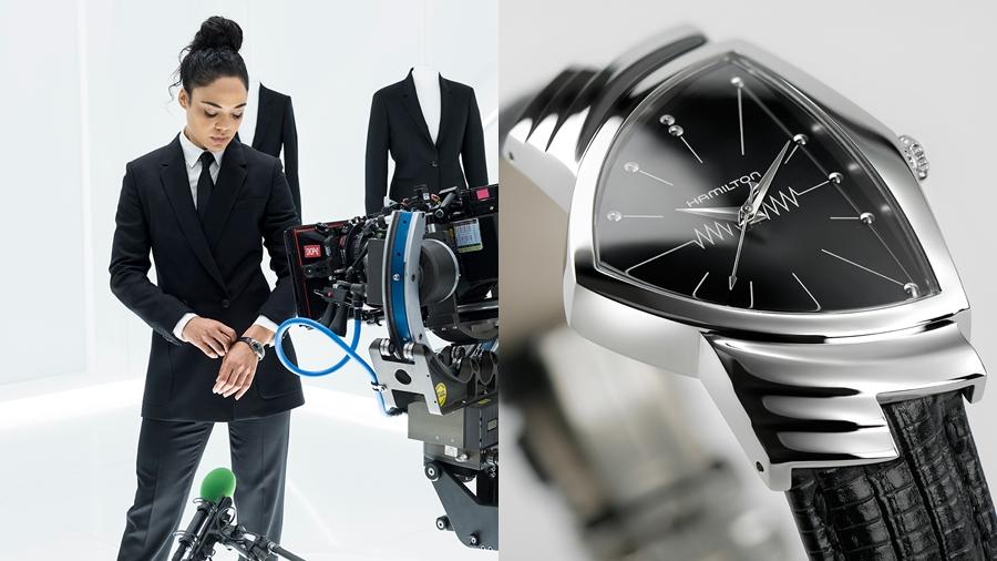 fashion Hamilton Men in Black MIB Ventura watch นาฬิกา แฟชั่น แฮมิลตัน