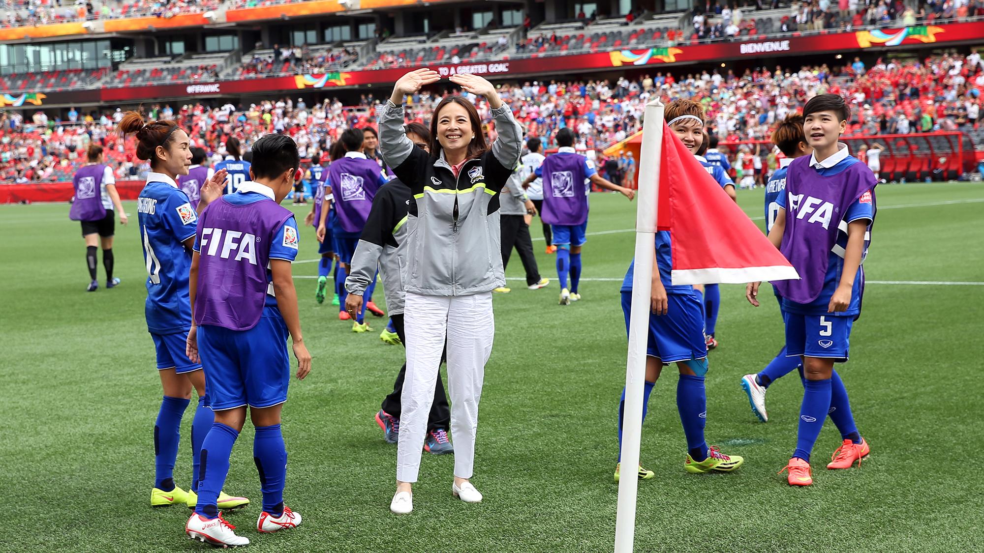 นวลพรรณ ล่ำซำ ฟุตบอลหญิงชิงแชมป์โลก 2019 ฟุตบอลหญิงทีมชาติไทย มาดามแป้ง