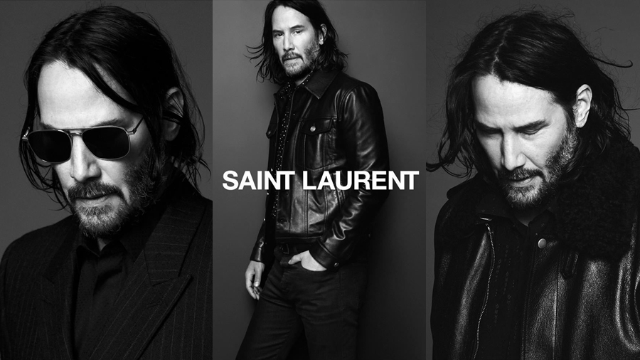 Keanu Reeves Saint Laurent Saint Laurent Men Yves Saint Laurent แฟชั่น