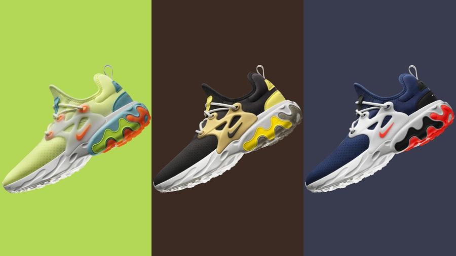 fashion nike Nike By You Nike React Presto Sneaker รองเท้า สนีกเกอร์ แฟชั่น ไนกี้