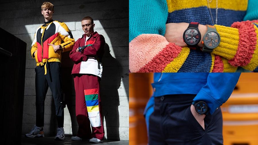 BIG BOLD fadhion streetwear swatch watch นาฬิกา สตรีทแวร์ สวอท์ช แฟชั่น