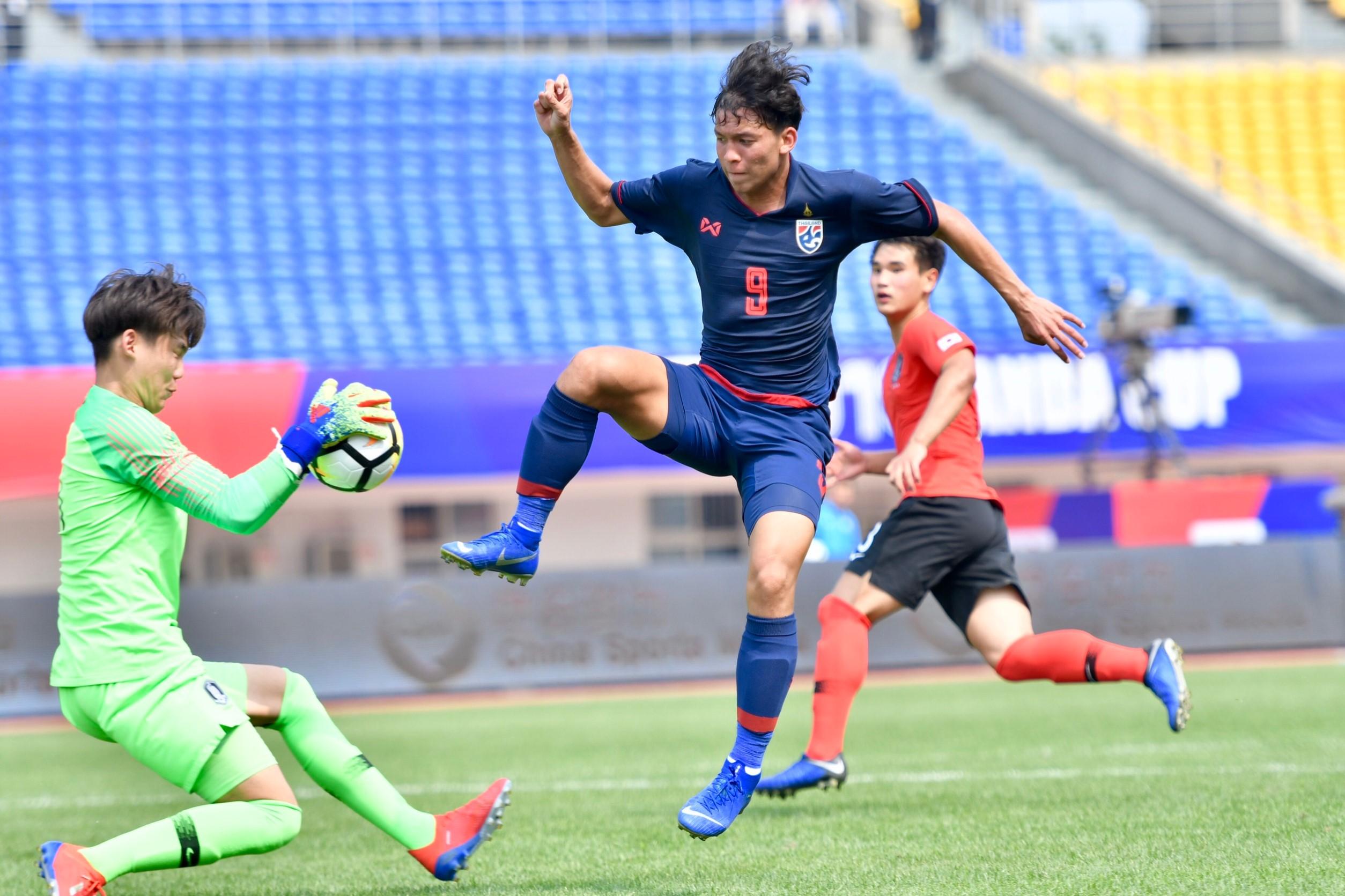 Panda Cup 2019 ทีมชาติเกาหลีใต้ U19 ทีมชาติไทย U19