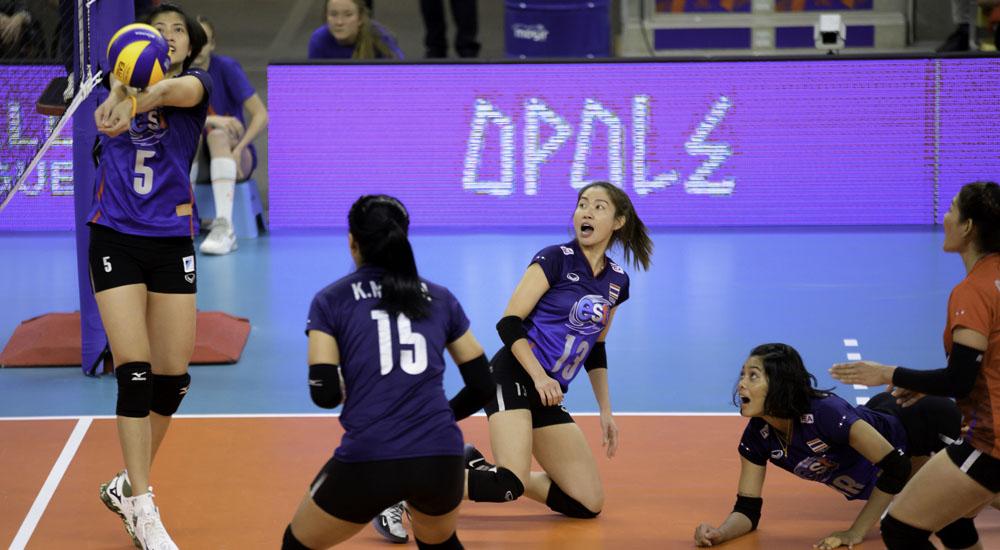 ทีมชาติจีน ทีมชาติไทย วอลเลย์บอล เนชั่นส์ ลีก