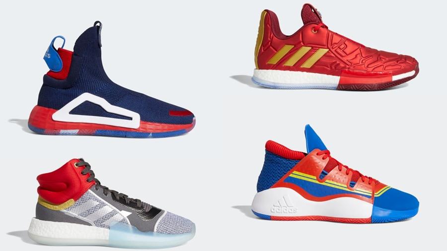adidas Adidas x Marvel Avengers marvel Sneaker รองเท้า สตรีทแฟชั่น สนีกเกอร์ แฟชั่น