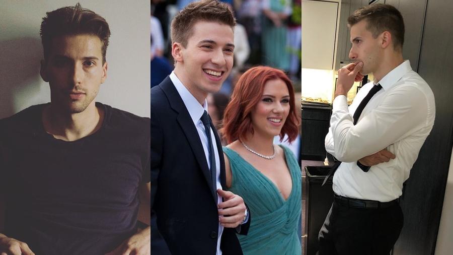 Hunter Johansson Scarlett Johansson น้องชายฝาแฝด Scarlett Johansson หนุ่มหล่อ