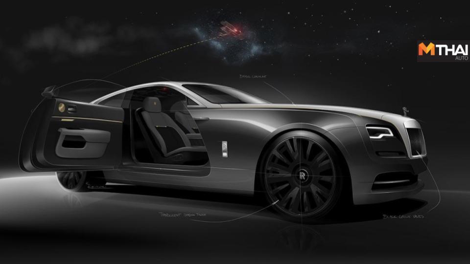Bespoke Collective Rolls-Royce Rolls-Royce Wraith Rolls-Royce Wraith Eagle 8 โรลส์-รอยซ์